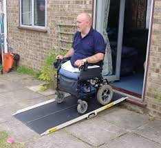 used wheel chair ramps used wheel chair ramps ramps for diity mobility wheelchair ramps home depot