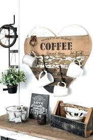 heart shaped coffee mug rack with stenciling expanding beechwood wall holder ideas wall mount cup rack mounted mug
