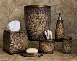 crackle glass bathroom accessories. details about faux crackled glass mocha ice bath accessories bathroom collection crackle a
