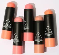 3ce creamy cheek sticks new to singapore beauty makeup korean brand sephora png