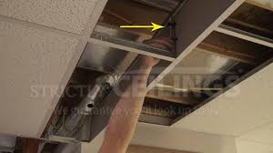 build basic suspended ceiling drops