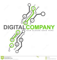 Digital Electronics Logo Stock Illustration Illustration Of Company