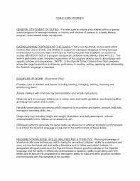 Social Work Resume Skills Social Work Resume Sample Best Of Social Worker Resume Example 58