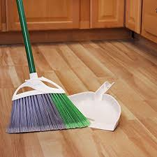 amazon libman 206 precision angle broom with dustpan home kitchen