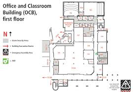 Office Map Office And Classroom Building Map Ocb