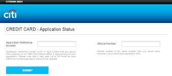 Check Citibank Credit Card Application Status Online