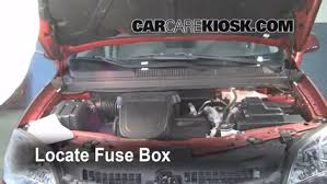 blown fuse check 2008 2010 saturn vue 2008 saturn vue xe 2 4l 4 cyl