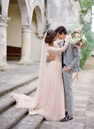 26 Gorgeous Ethereal Colored Wedding Dresses Colored Wedding This Train Is A Gorgeous Way To Add Color To Your Wedding Day Look Captured