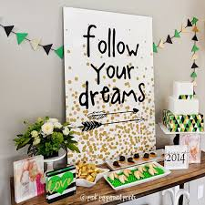 block garland graduation decor it s super chic to decorate your graduation party with this gorgeous