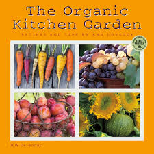 Kitchen Garden Foods Organic Kitchen Garden 2018 Wall Calendar 762109029275