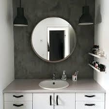 funky bathroom lighting. Ikea Bathroom Lighting Ireland Funky With Make Over Concrete Look Wall And Mirror
