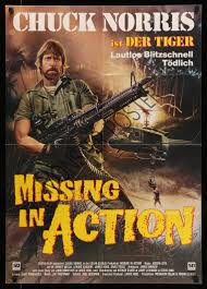 Missing In Action Poster Missing in action Chuck norris Monster Poster 1
