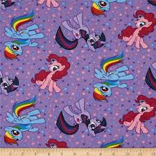 my little pony purple discount designer fabric fabric com