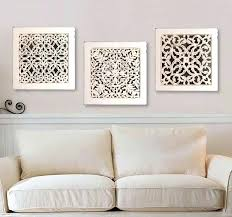 square wood wall decor square wall art antique white mirror base covered with an intricate cut on antique white wood wall art with square wood wall decor square wall art antique white mirror base