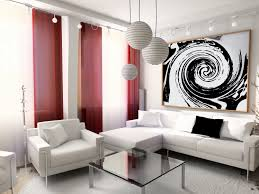 High End Decorative Blackout Red And White CurtainsRed Curtain Ideas For Living Room