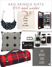 kris kringle 50 gift ideas