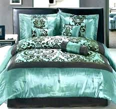 turquoise comforter sets queen and gray bedding brown set blue