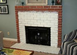 ugly brick fireplace makeover airstone