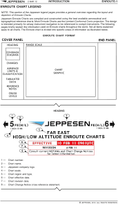 Note This Section Of The Jeppesen Legend Provides A General
