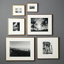 modern picture frames. Contemporary Picture Gallery Brass Frames With White Mats Throughout Modern Picture M