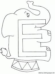 Small Picture Letter E Coloring Pages Get Coloring Pages