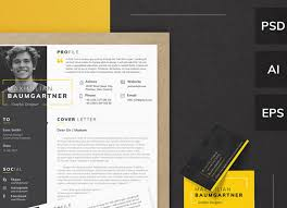 Web Designer Resume Template Cv Templates Creative Market