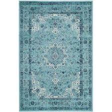 evoke light blue 4 ft x 6 ft area rug