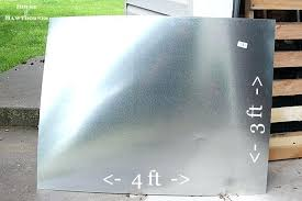 diy zinc table top instructions for making a zinc top table dining table could be used