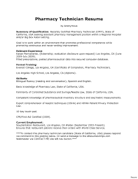 Modern Hospital Pharmacist Resume Modern Pharmacy Tech Resume Barca Fontanacountryinn Com