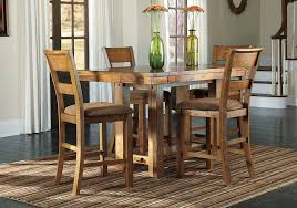 strong krinden counter height dining table and 4 chairs strong the counter top kitchen tables