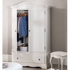 white wood wardrobe armoire shabby chic bedroom. Romance Shabby Chic White Bed / Double 4ft6 Or King 5ft Wood Wardrobe Armoire Bedroom I