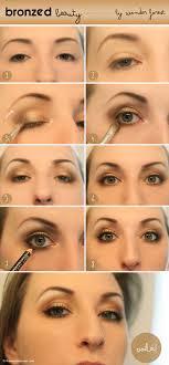 makeup ideas with eyes makeup tutorial with bronzed beauty golden smokey eye tutorial wonder