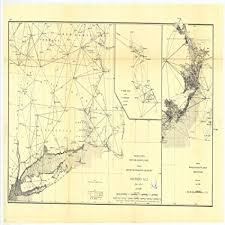 New England Nautical Charts Amazon Com C 1888 18 X 24 Reproduction Of Old Map Chart