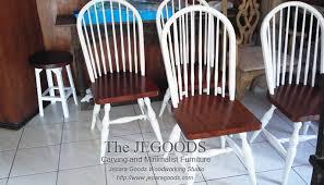 kursi windsor dining chair retro vine scandinavia furniture jepara goods indonesia