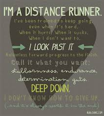 Endurance Quotes Impressive Best Health And Fitness Quotes I'm A Distance RunnerI'm An