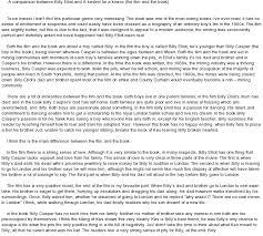 elliot essay billy elliot essay