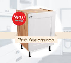 Preassembled Kitchen Cabinets Pre Built Solid Oak Kitchens Now Available With Our Assembly