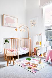 stokke sleepi crib toddler bed in playful nursery