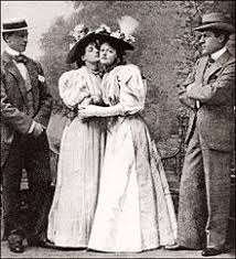 the importance of being earnest allan aynesworth evelyn millard irene vanbrugh and george alexander in the 1895 london premiere