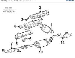 03 09 toyota 4runner performance exhaust system page 3 toyota i also wanted to mention that the 03 04 4runner v8 exhaust manifolds are different then the 05 09 vvti v 8