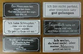 Magnet Schild Holz Magnet Spruch Sprüche 12 X 5 Cm Shabby Motivwahl