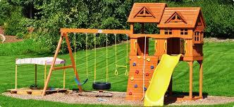 10 Essentials for a Backyard Playground
