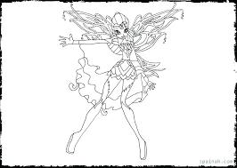 Winx Club Flora Coloring Pages Migliori Pagine Da Colorare
