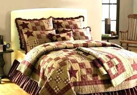 affordable duvet covers country quilt sets rustic duvet covers country bedding sets rustic quilt bedding sets 4 primitive country rustic star patch