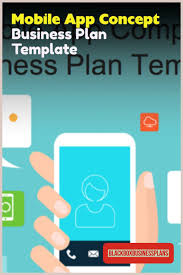 Business Plan App Mobile App Concept Business Plan Template Business Plan