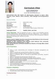 Example Skills For Resume Sample Resume Sample New Blank Resume