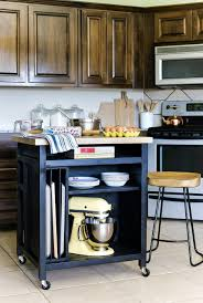 diy rolling kitchen island kitchenisland styled cart how build wheels home water filtration system best counter
