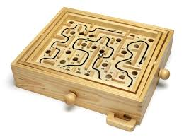 Wooden Maze Games Wooden Maze Puzzle stock photo Image of skill ball 100 78