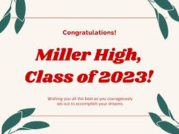 Simple White High School Graduation Card Card Maker Create