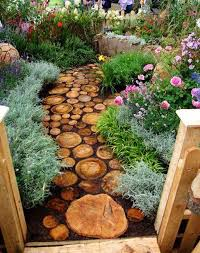 Wooden Path Backyard Ideas